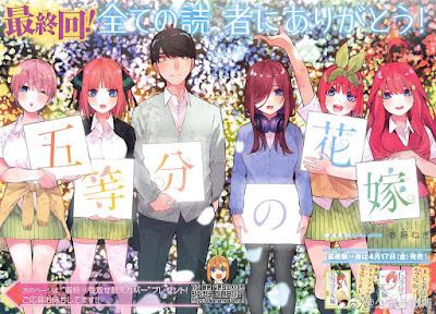 la segunda temporada de Go-Toubun no Hanayome.