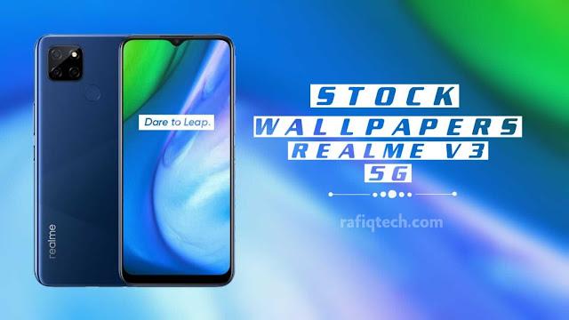 تحميل خلفيات ريلمي Realme V3 الأصلية بجودة عالية الدقة [HD+]