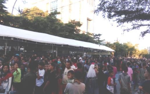 Ribuan Warga Antri Hadiri, Open House Pak JK Di Makassar