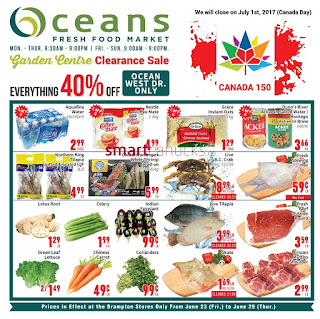 Oceans weekly flyer June 23 - 29, 2017