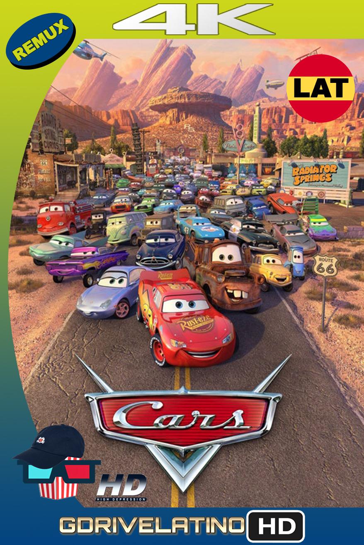 Cars (2006) BDRemux 4K HDR Latino-Ingles MKV