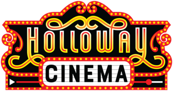 Holloway Cinema Sign With Lights All Around The Marquee