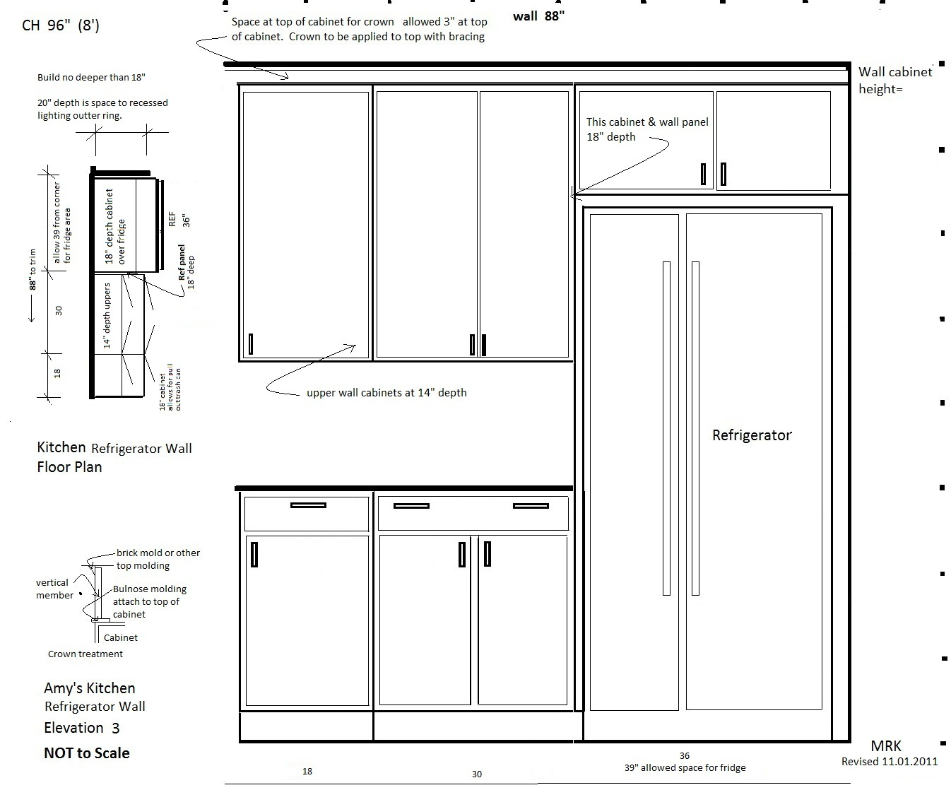 Charmant Fridge Cabinet Dimensions Wwwredglobalmxorg · SaveEnlarge · Remodelaholic  Build A Cabinet Over The Fridge