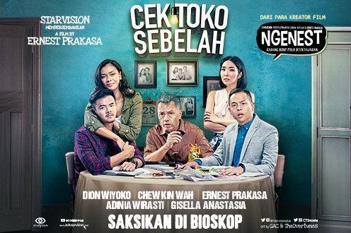 Review Film Komedi : Cek Toko Sebelah (2016)