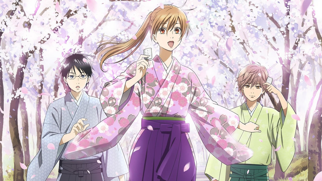 Chihayafuru Season 3 wallpaper