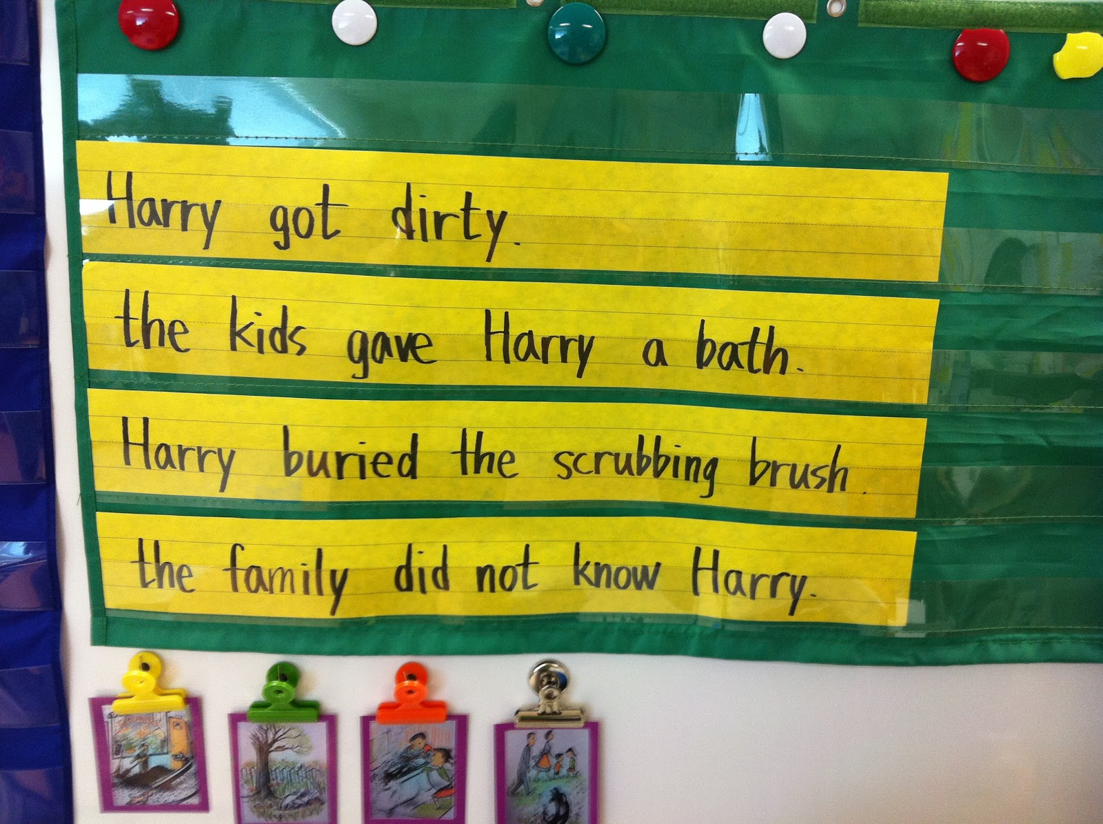 Primary Esol Harry The Dirty Dog Sequencing Skill