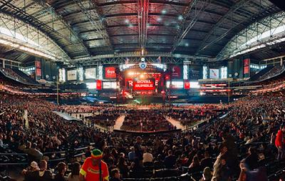 WWE Crowd Noise Gaff Raw Edit