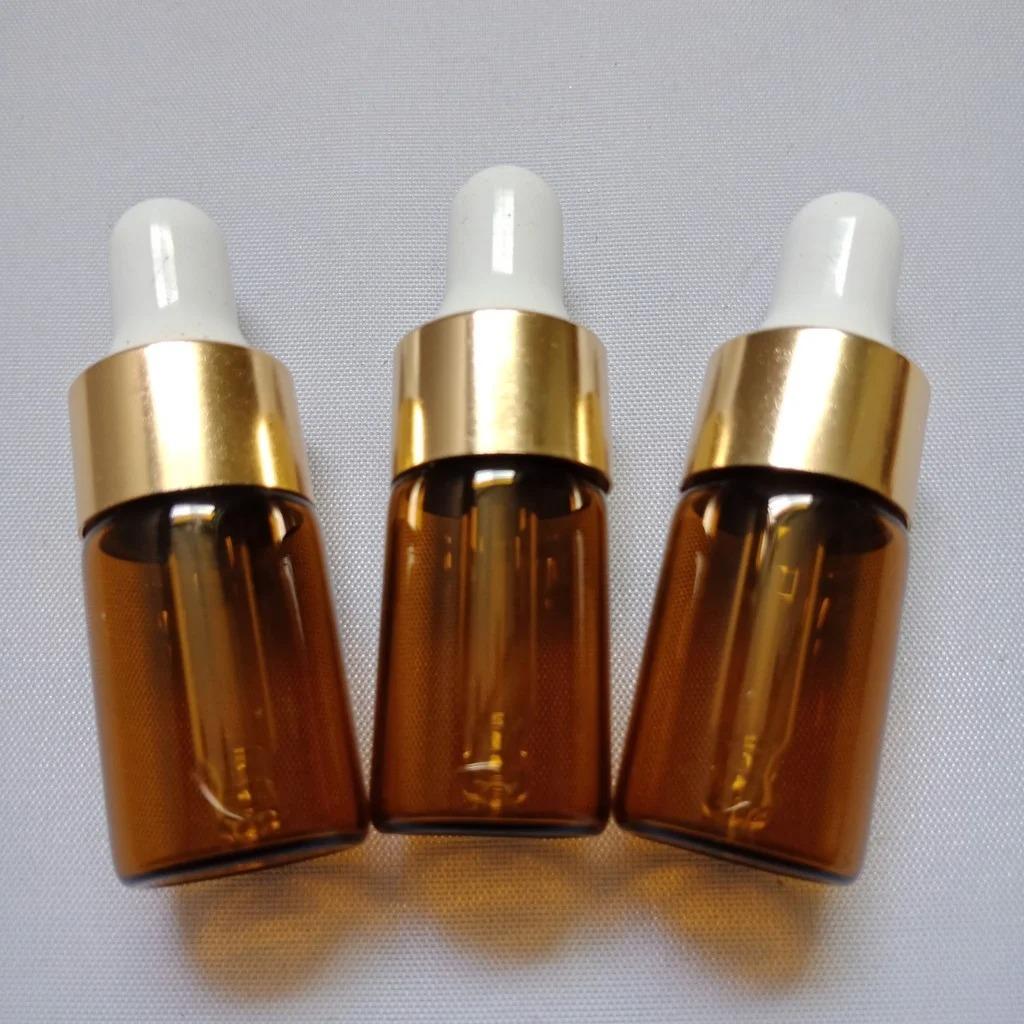 Sử dụng các chai tối màu đựng serum để tránh tiếp xúc với ánh sáng