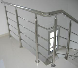mau lan can cau thang inox dep 11 Cột cờ inox 304 cao 9m 10 m 11m 12m, cổng xếp inox 304 , cổng xếp sắt không ray kéo tay