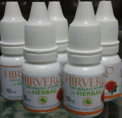 Hirvero Jamu Tetes Herbal