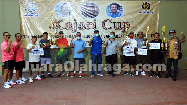 Kejuaraan Tenis Kajari Cup 2020: Hasil Lengkap Beregu Putra
