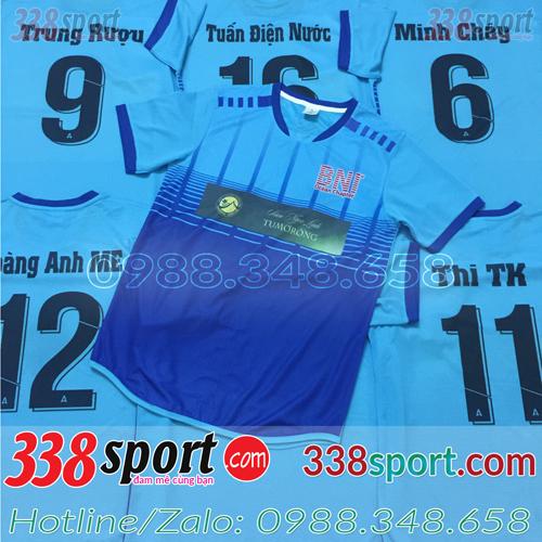In áo bóng đá tại Vĩnh Phúc