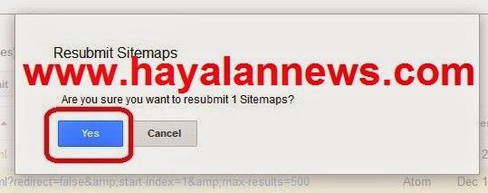 Cara mengatasi warnings sitemaps pada webmaste