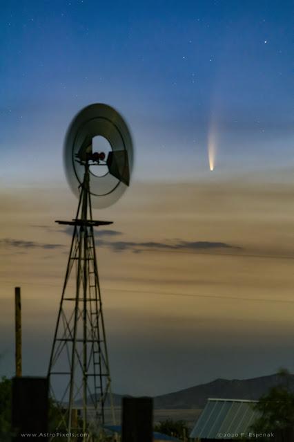 Cometa NeoWise - Fred Espenak - Portal - Arizona