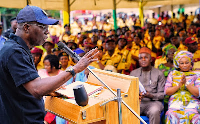 Governor Sanwo-Olu Visits LASTMA, Approves 100% Salary Increment (Photos)
