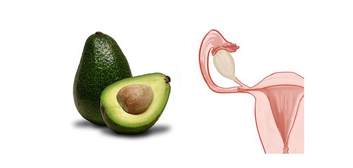 Avocado and ovarian