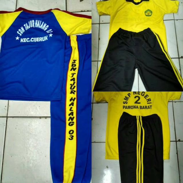 Baju Olahraga SD dan SMP