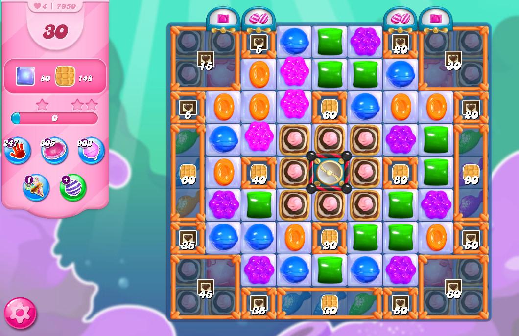 Candy Crush Saga level 7950