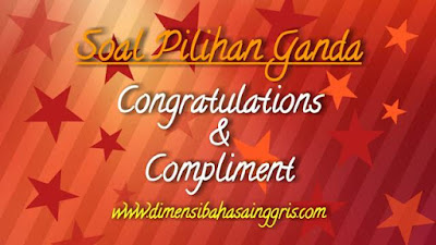 DBI - Soal PG Congratulation and Compliment