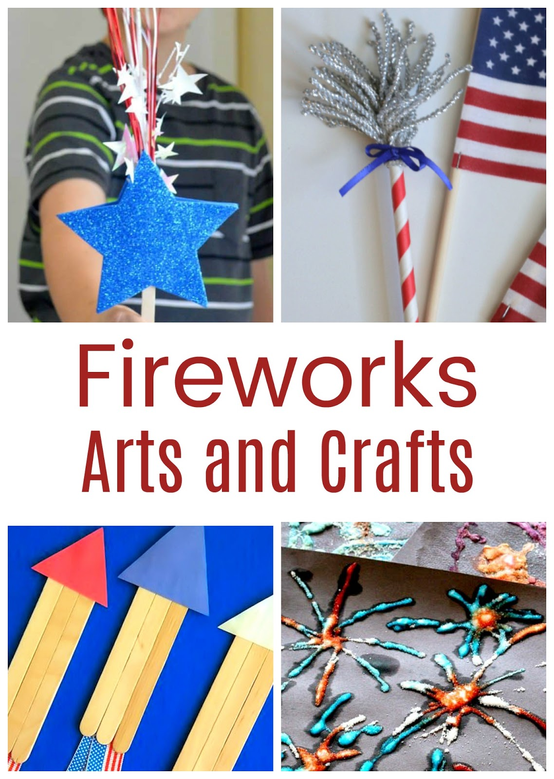 Explosion of Awesome Fireworks Crafts and Activities for Kids - Life