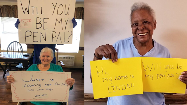 Residents from North Carolina Nursing Homes Search for Pen Pals