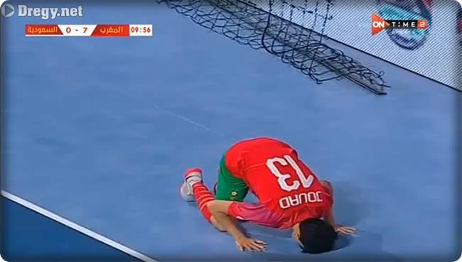 اهداف مباراة المغرب و السعودية 8-0