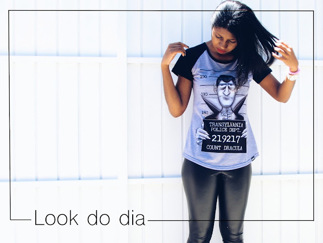 Capa: Look do dia com camiseta da marca Eztranhos