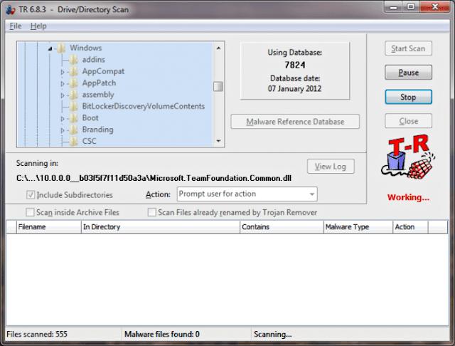 برنامج حذف الملفات الضارة