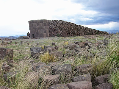 Chullpa inacabada, Sillustani, Perú, La vuelta al mundo de Asun y Ricardo, round the world, mundoporlibre.com