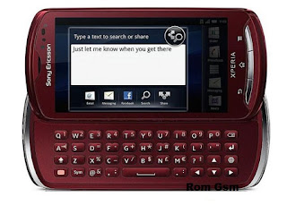 Firmware Download Sony Ericsson Xperia Pro MK16a