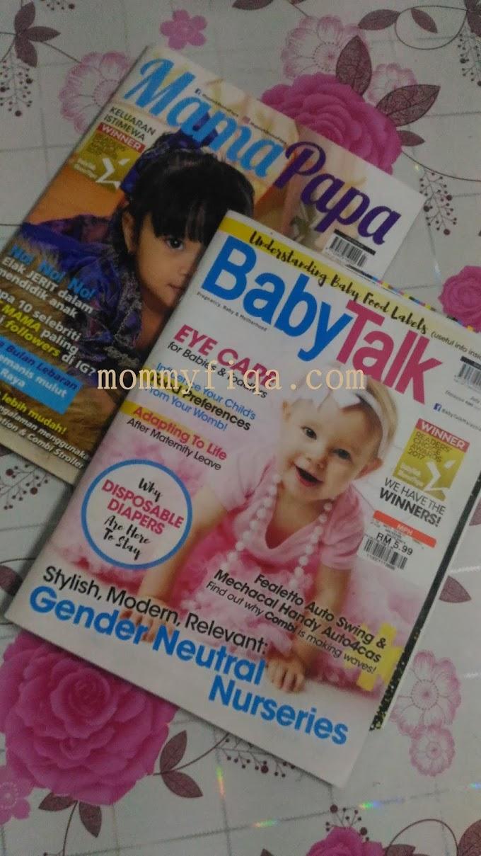 Featured dalam Majalah MamaPapa & BabyTalk