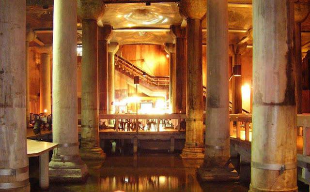Basilica Cistern set for comprehensive restoration