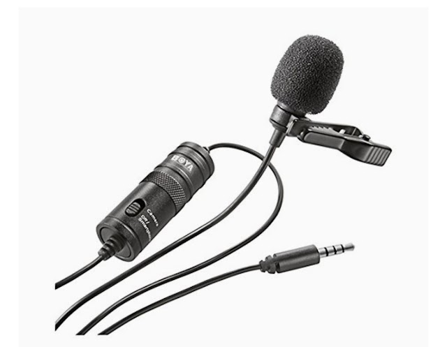 Boya BY-M1 Mic for YouTube Video Recording under ₹800