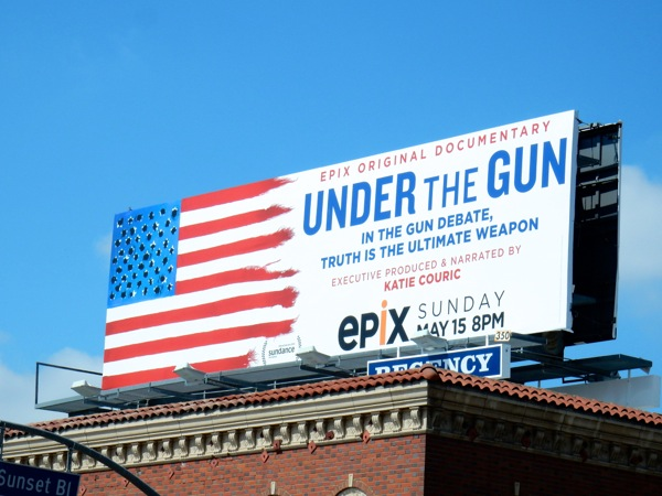 Under the Gun film billboard