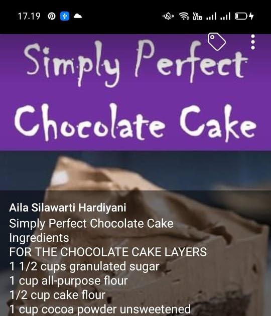#Simply #Perfect #Chocolate #Cake