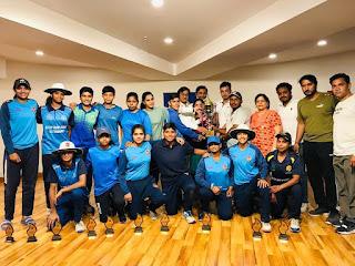 सूरजकुंड इंटरनेशनल स्कूल में T-20 क्रिकेट टूर्नामेंट के निर्णायक दिवस बना मिसाल