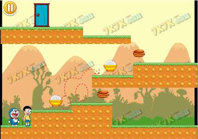 Chơi game Doremon và Nobita thú vị