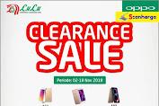 Promo LULU Clearance Sale Handphone Oppo Periode 2 - 18 November 2018