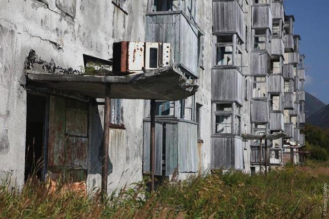 Base submarina abandonada en Rusia