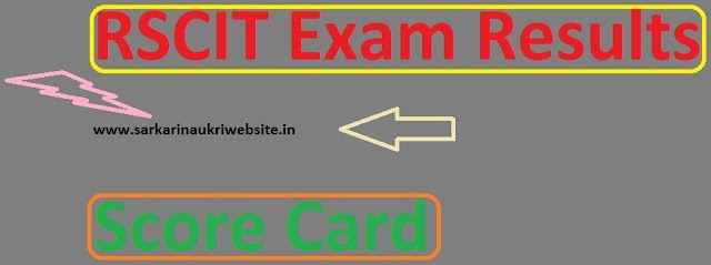 RSC-IT Results 2019 RKCL RSCIT Exam Batch III E-Certificate - rkcl.vmou.ac.in