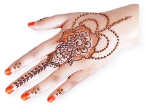 Gulf Style Mehndi