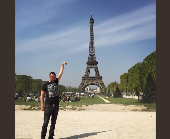 Fotos fail - mal enquadradas- Pegando a Torre Eiffel