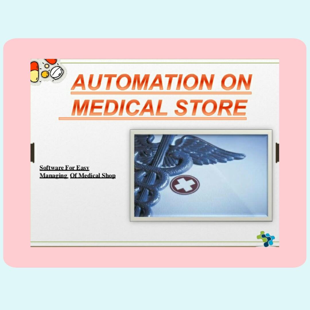 MEDICAL STORE AUTOMATION(A CASE STUDY OF GENERAL HOSPITAL JEGA) JEGA, KEBBI STATE