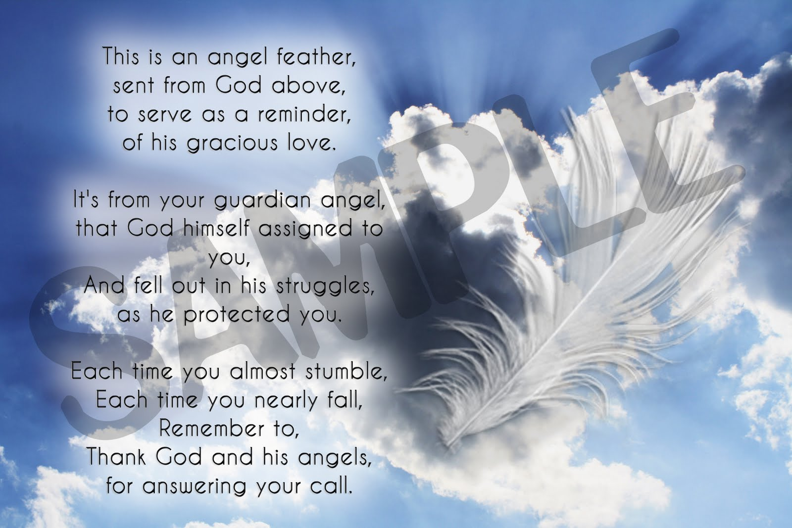 Angel Feather Poems And Quotes. QuotesGram