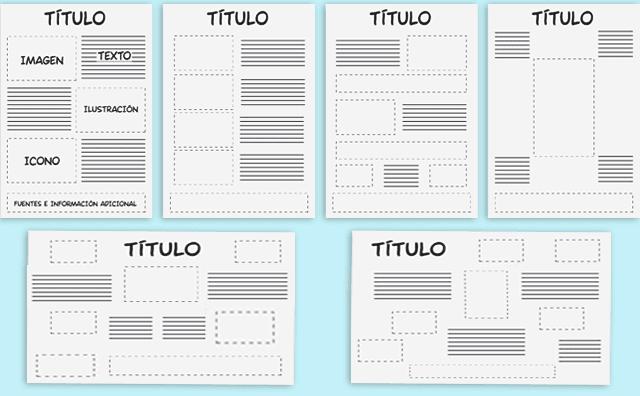 tipos de diseño de una infografía