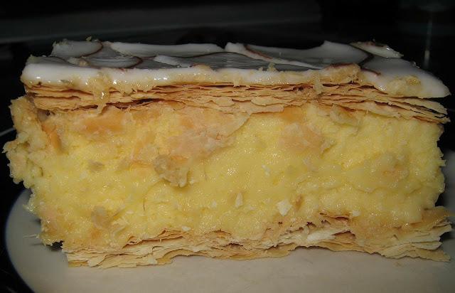 Slow cooker vanilla slice recipe