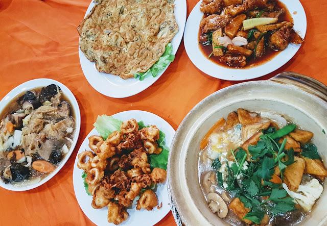 【霹雳爱大华美食】霹雳爱大华云华海鲜酒家 Restaurant Ing Hua @ Ayer Tawar, Perak| 正宗福州菜肴