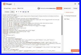 Cara Membuat Daftar Isi Blog Keren Valid HTML5