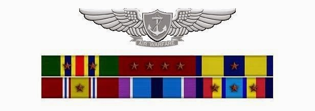 My Ribbons and Air Warfare Wings