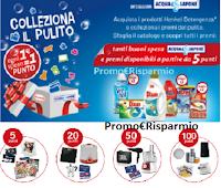 Logo ''Colleziona il pulito 2020 '' : ricevi buoni spesa Acqua&Sapone e premi certi